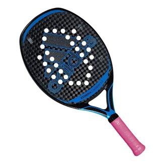 Raquete de Beach Tennis Adidas Essnova Carbon 3.0 Preta e Azul