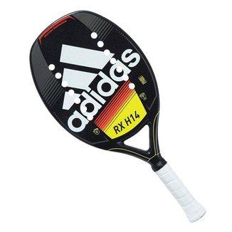 Raquete de Beach Tennis Adidas RX H14 Preta Branca e Amarela