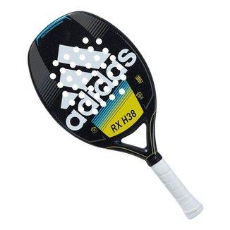 Raquete de Beach Tennis Adidas RX H38 Preta Branca e Azul