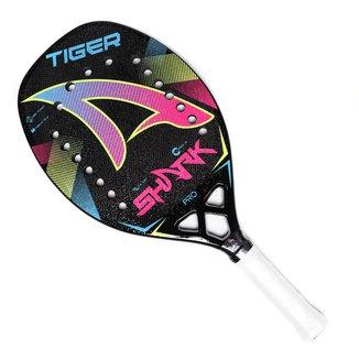 Raquete De Beach Tennis Shark Tiger 2021 c/ Bag