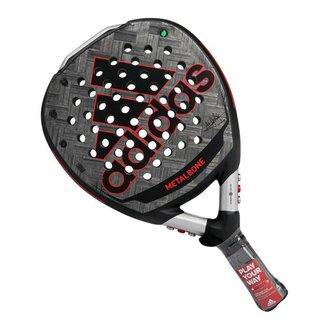Raquete de Padel Adidas Adipower Metalbone Preta e Vermelha