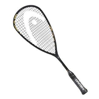 Raquete de Squash Head Graphene 360+ Speed 120 SB Preta e Dourada