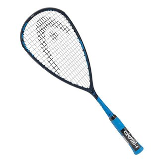 Raquete de Squash Head Graphene 360+ Speed 135 Marinho e Azul
