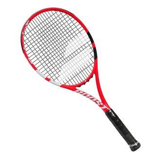 Raquete de Tênis Babolat Boost Strike Vermelha Preta e Branca