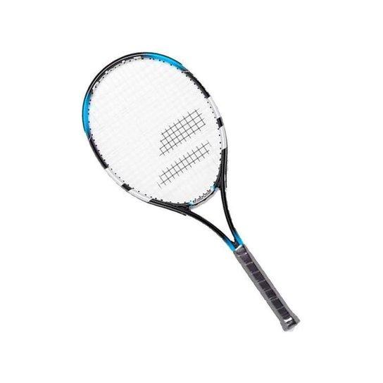 Raquete de Tênis Babolat Falcon Strung - Preto+Azul