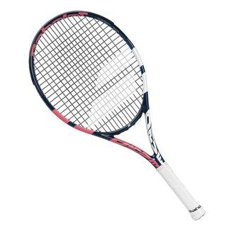 Raquete de Tênis Babolat Pure Drive Junior 25 Marinho Rosa e Branca
