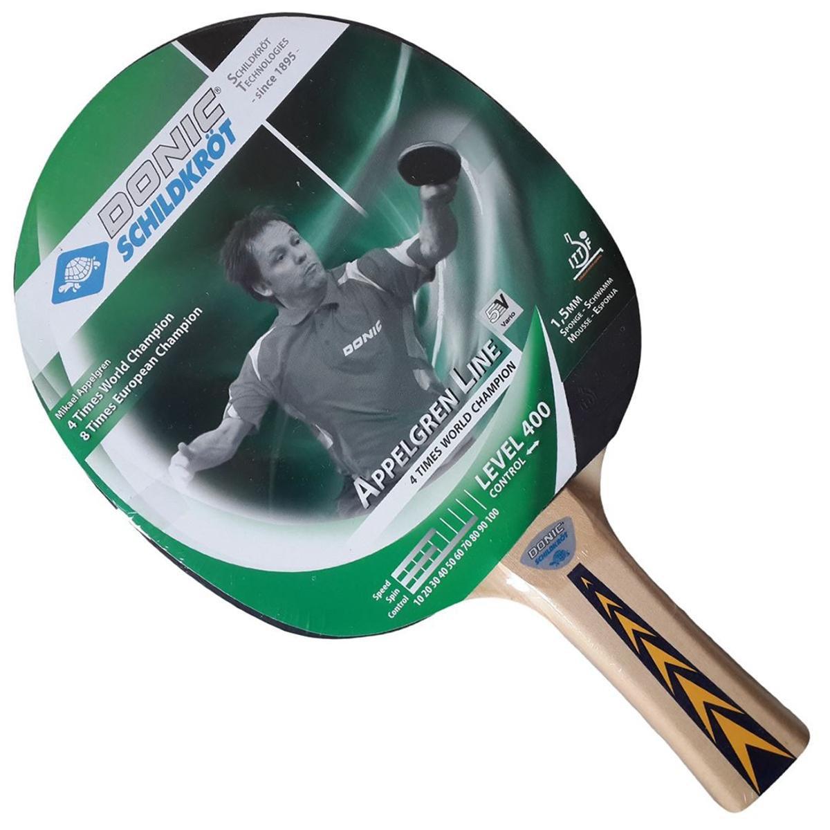 913463f9a Raquete de Tênis de Mesa Donic Appelgren 400 - Compre Agora