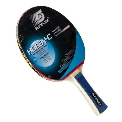 Raquete De Tênis De Mesa Sunflex Hobby C