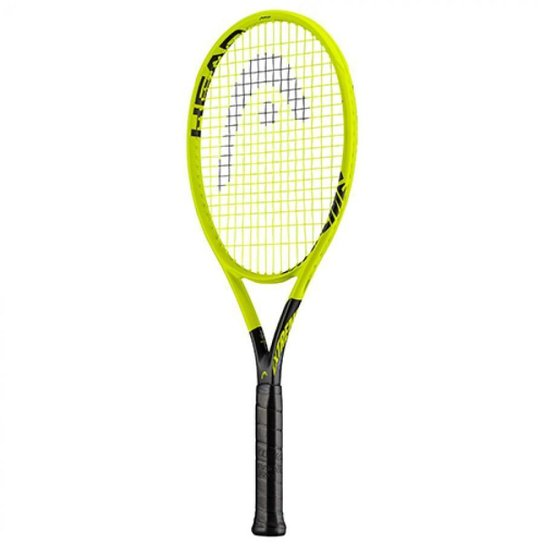 Raquete de Tênis Head 360 Extreme Pro - Encordoada - Amarelo Fluorescente