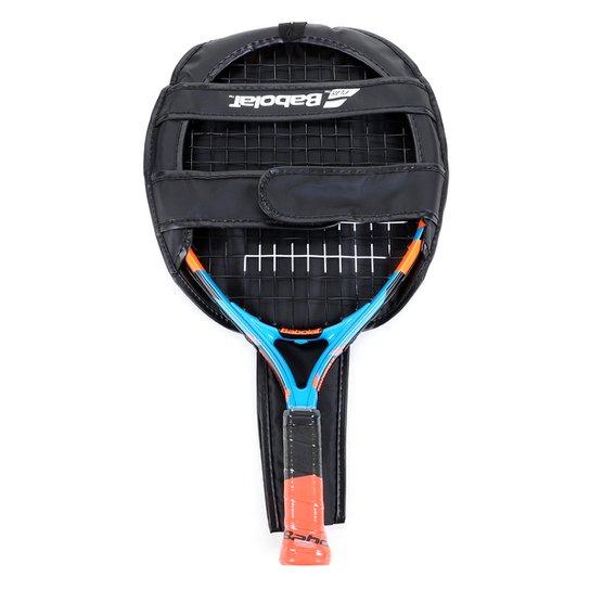 Raquete de Tênis Infantil Babolat Ballfigthter 17 - Azul+Laranja