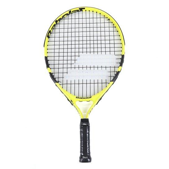 Raquete de Tênis Infantil Babolat Nadal Jr. 19 - Amarelo+Preto