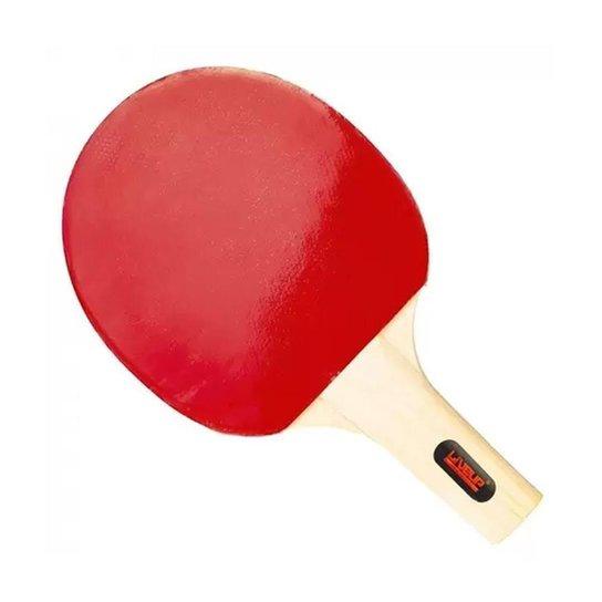 Raquete de Tênis Mesa Handshake Grip - Vermelho