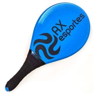 Raquete para Frescobol AX Esportes Evolution Azul