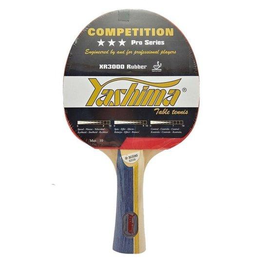 Raquete Tenis de Mesa Yashima Competição 3 Estrel - Preto
