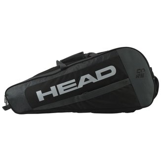 Raqueteira Core 6R Preta 2021 - Head