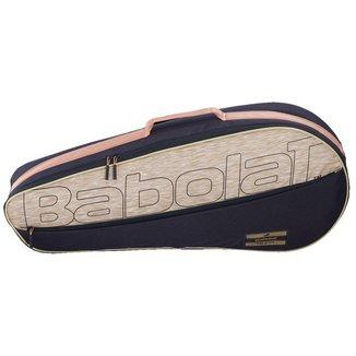 Raqueteira Essential 3R Preto e Bege Modelo 2022 - Babolat