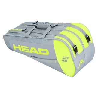 Raqueteira Head Core 6R Combi - Amarelo