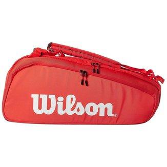Raqueteira Super Tour 6R Vermelha - Wilson