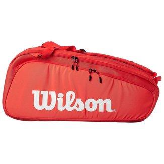 Raqueteira Super Tour 9R Vermelha - Wilson