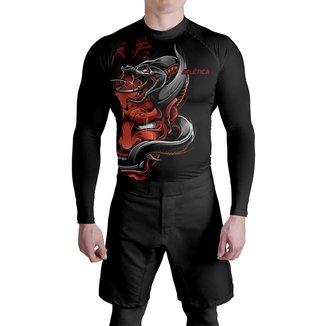 Rash Compressão Red Samurai Atlética