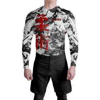 Rash Poliéster Samurai Jiu Jitsu Atlética