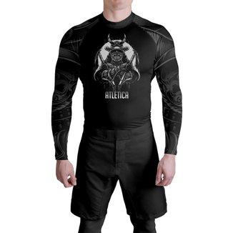 RashGuard ATL Oss Black Samurai Atlética