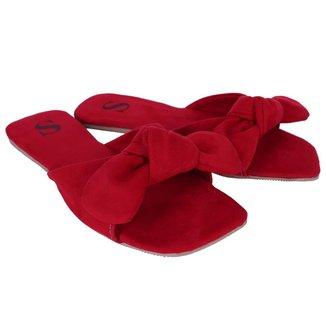 Rasteirinha De Laço Lançamento Sapatolatra