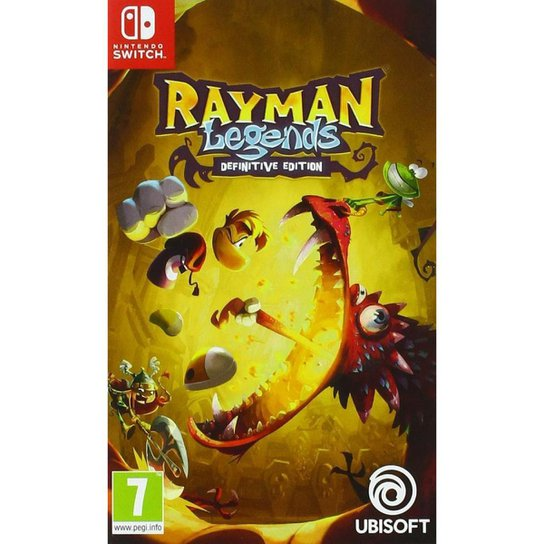 Rayman Legends Definitive Edition - Switch - Incolor