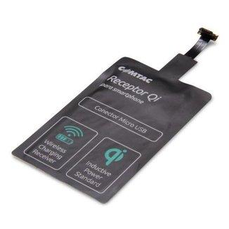 Receptor de Carregador sem fio - Padrão Qi - Micro USB - Comtac 9353