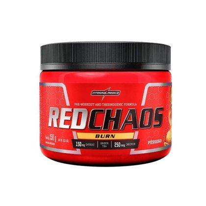 Red Chaos Burn - 150g - Pêssego - Integralmédica