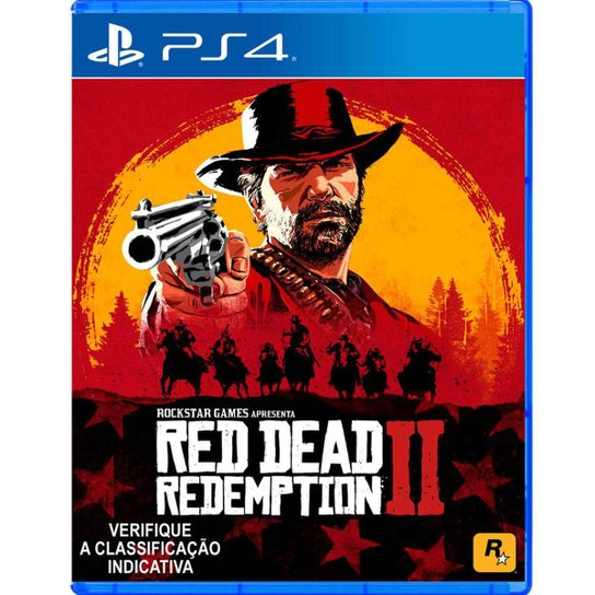 Red Dead Redemption 2 - PS4 - Incolor