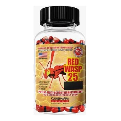 Red Wasp 25 Clone Pharma Laboratories 60 Caps