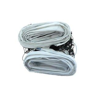 Rede De Vôlei Em Nylon 2mm Com 4 Faixas Sintéticas