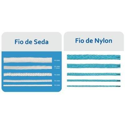 Rede Oficial Futebol Suíço Fio 4 (Nylon) 5 m - Par - Unissex