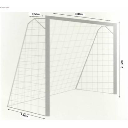 Rede Oficial para Futsal Fio 3 (Nylon) - Par - Unissex