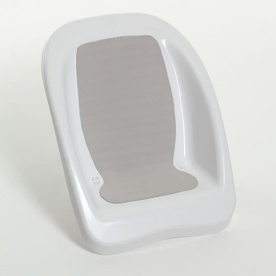 Redutor de Banheira para Bebê Plástica Branco - Branco