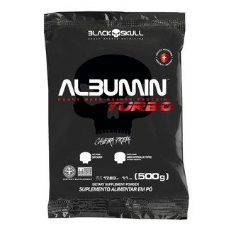 REFIL ALBUMIN TURBO SEM SABOR 500G