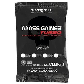 Refil Mass Gainer Black Skull Turbo Morango 1,6Kg