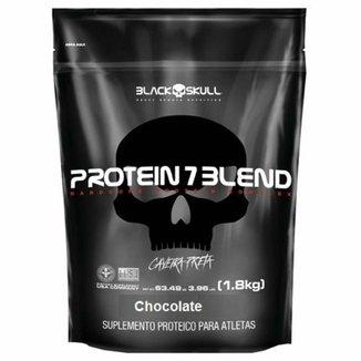 Refil Protein 7 Blend Black Skull 1,8 Kg