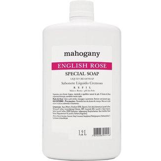 REFIL SAB LIQ ENGLISH ROSE 1,2L MAHOGANY