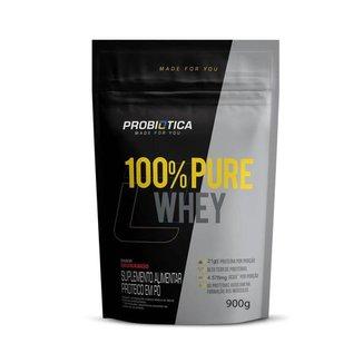 Refil Whey 100% Puro 825g Probiotica Vários Sabores