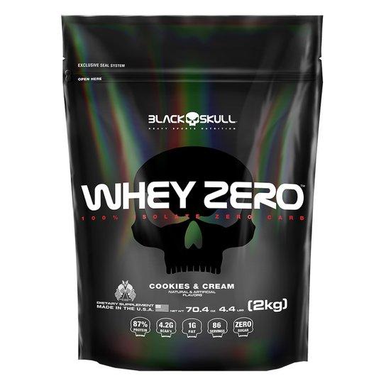 Refil Whey Zero 2 Kg - Black Skull -
