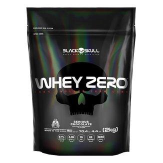 Refil Whey Zero 2 Kg - Black Skull