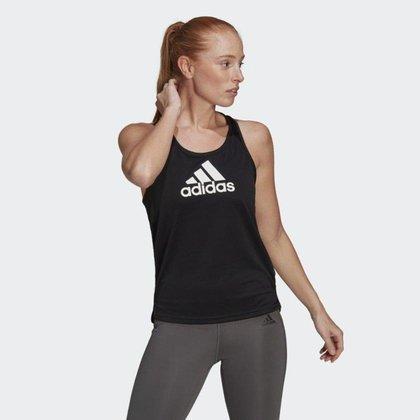 Regata Adidas Esportiva Aeroready Designed 2 Move Logo Feminina GL3826