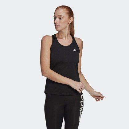 Regata Adidas Esportiva Primeblue Designed 2 Move 3-Stripes Feminina Gl3792