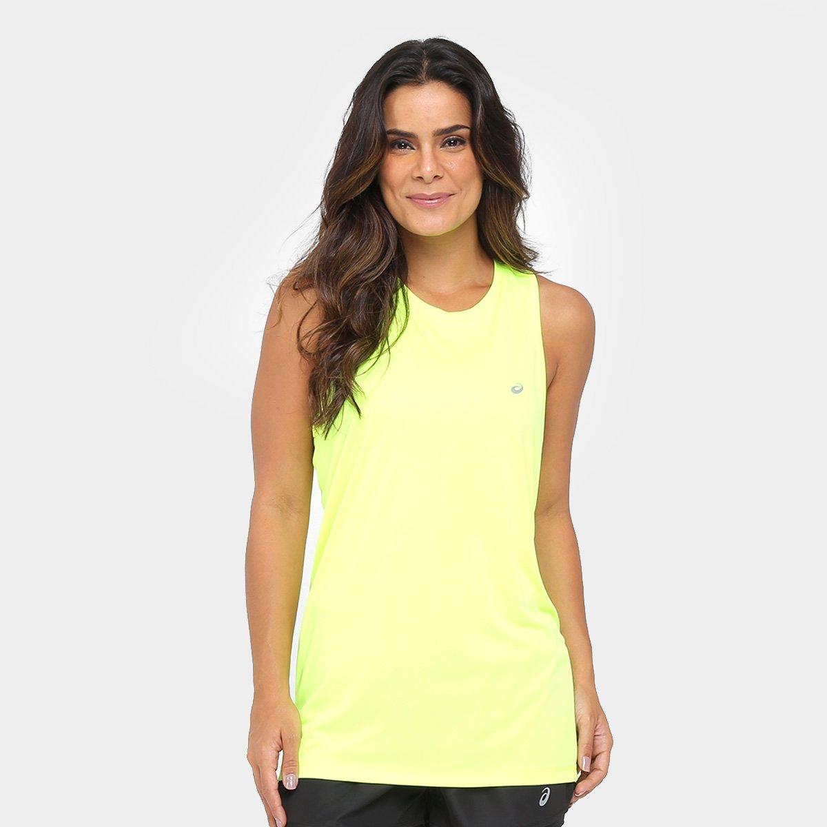 d915e4cfcde Regata Asics Core Pes I Feminina - Verde Limão - Compre Agora