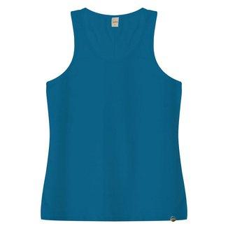 Regata Básica Feminia Viscotorcion Rovitex Azul P