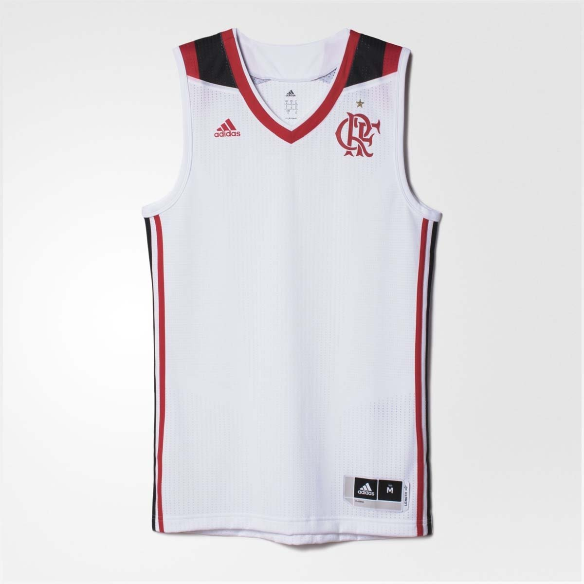 Regata Basquete Flamengo Jogo II Adidas 2016 - Compre Agora  77ff880af5fdc