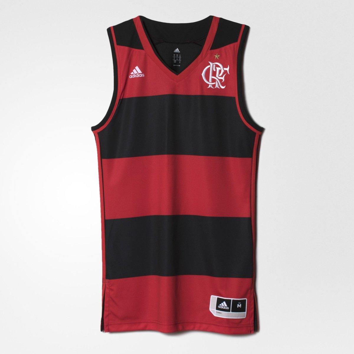 e070883cf Regata Basquete Flamengo RPL I Adidas 2016 - Compre Agora