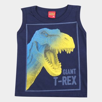 Regata Bebê Kyly T- Rex Masculina